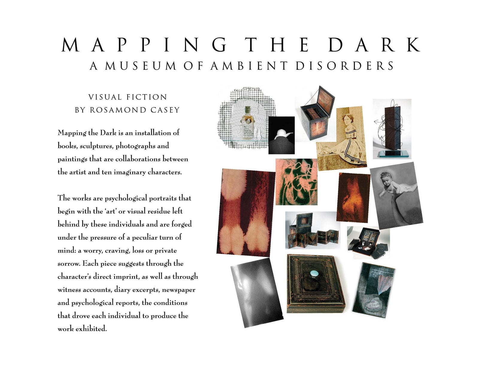 Mapping the Dark-Title
